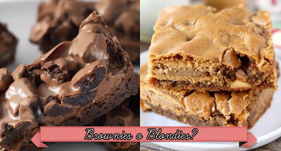 brownies ricetta, blondies ricetta, brownies recipe, blondies recipe
