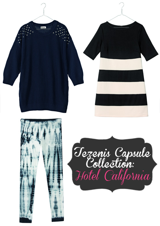tezenis hotel california capsule collection