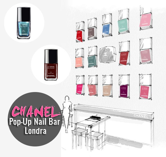 Beauty: Chanel Pop-Up Nail Bar a Londra