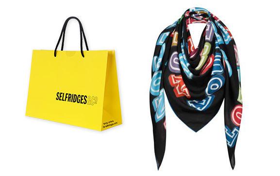 Fashion: Louis Vuitton e la sciarpa effetto 'graffiti'