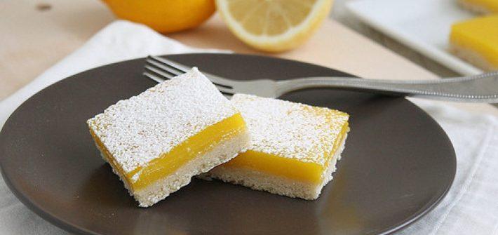 ricetta, lemon-bars, dolci al limone