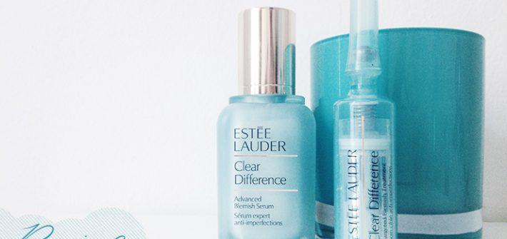 Estée Lauder, clear difference, review, advanced anti blemish serum,