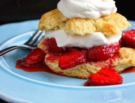 ricetta, strawberry short cakes,