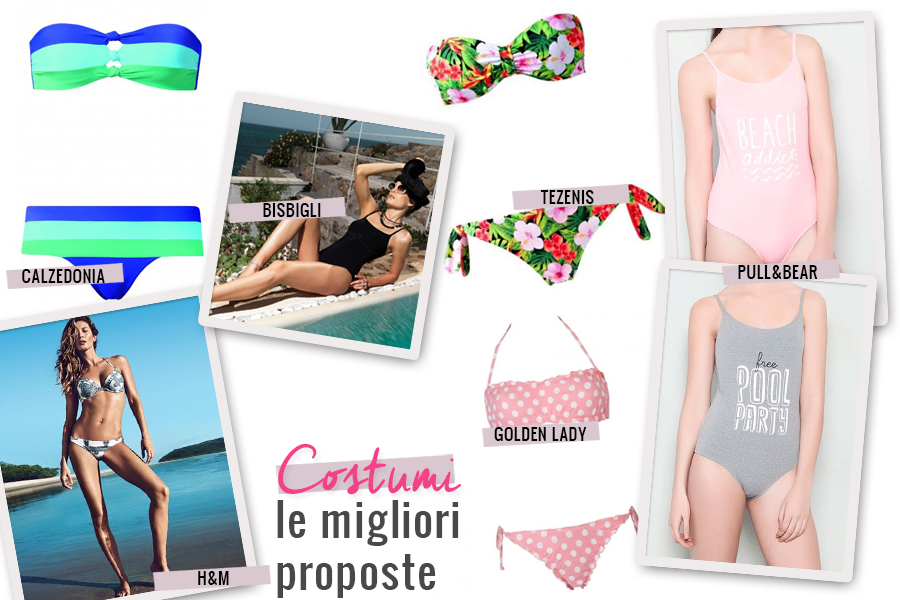 Fashion: I costumi da bagno must-have per l'estate 2014