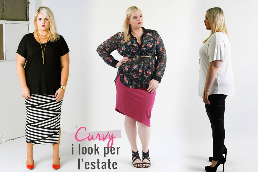 I curvy look per l'estate