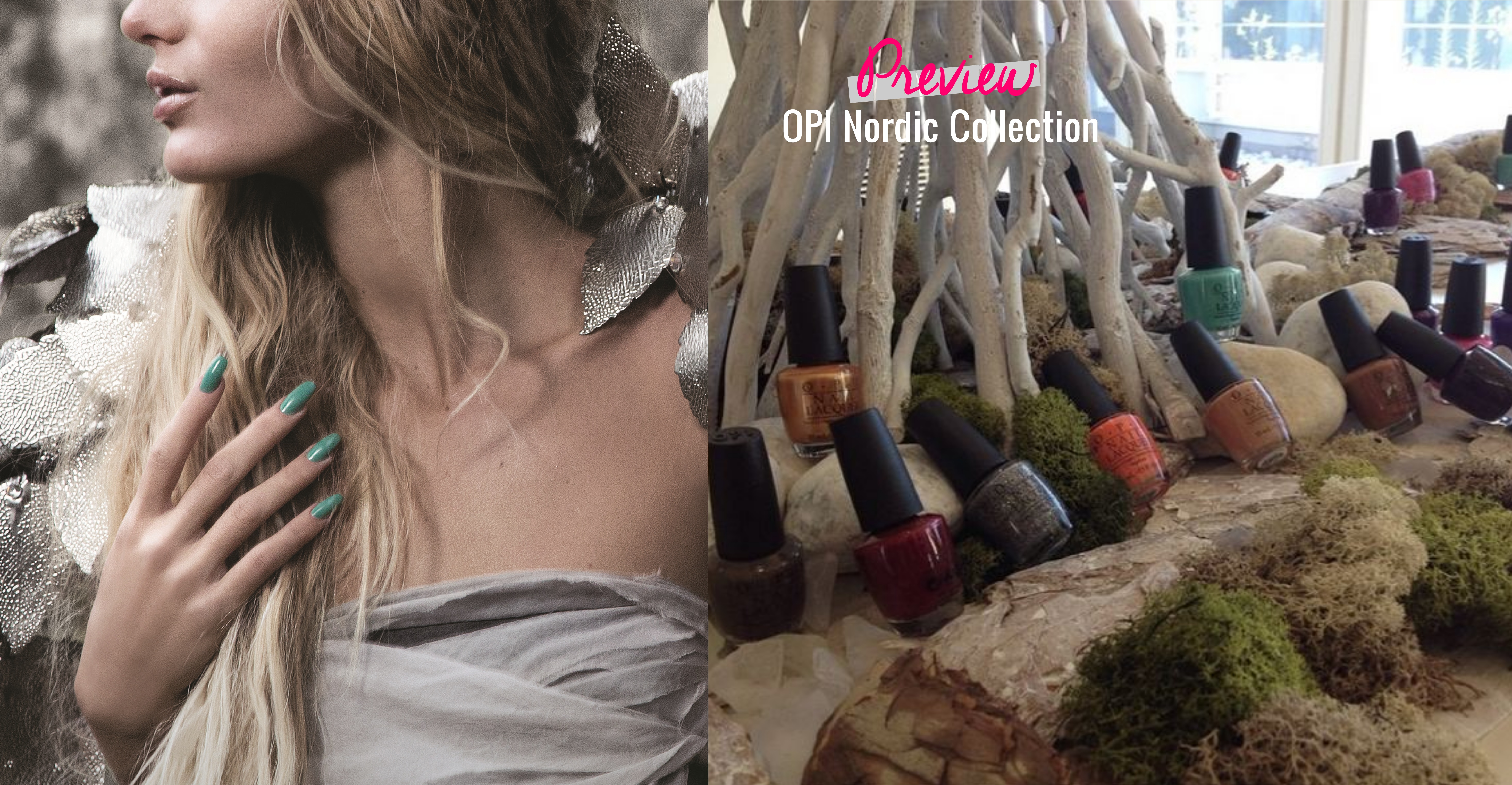 Beauty: Preview OPI Nordic Collection F/W 14