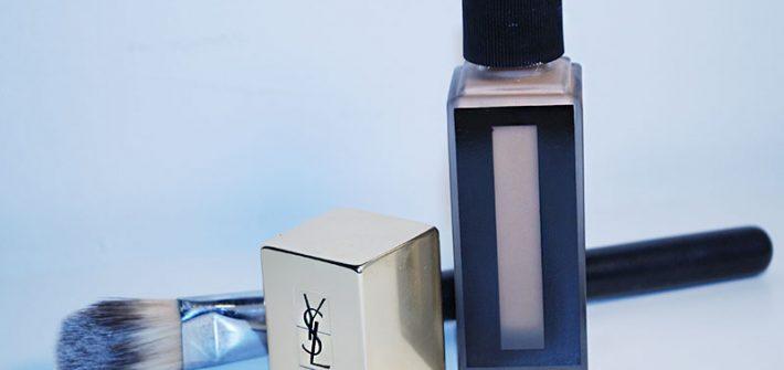 Yves Saint Laurent Teint Encre de Peau, review, foto, swatches, applicatore in feltro