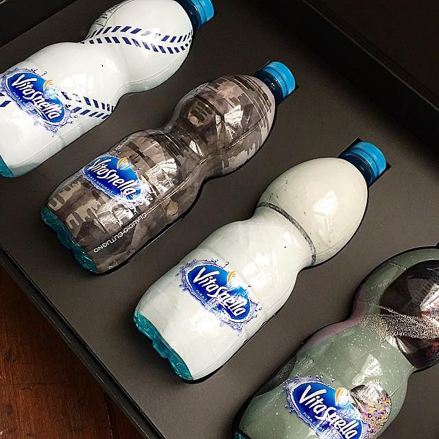 La #MFW è alle porte: le avete viste le bellissime bottigliette @acquavitasnella create per l'occasione?