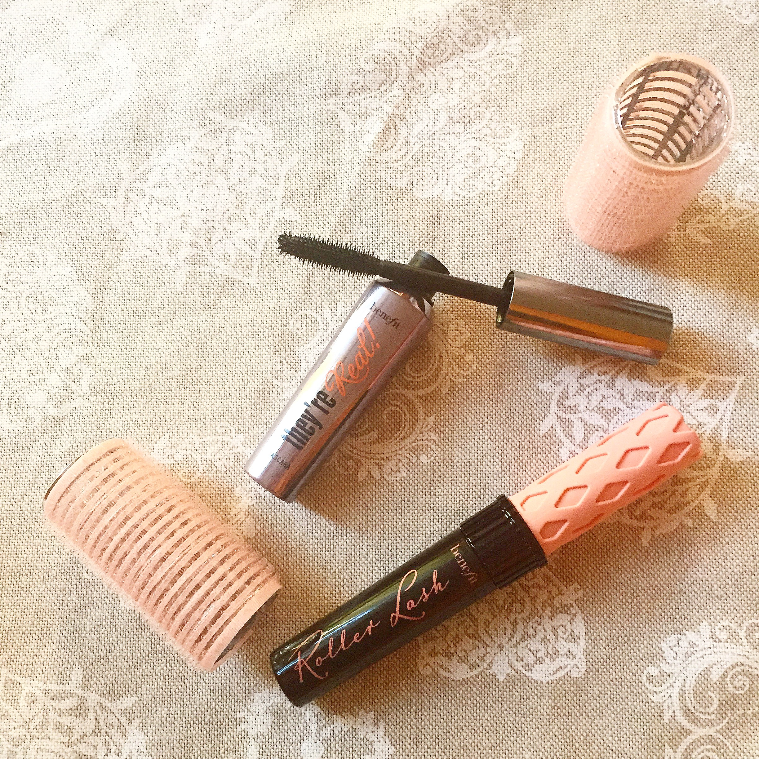 benefit roller lash, benefit they're real! mascara