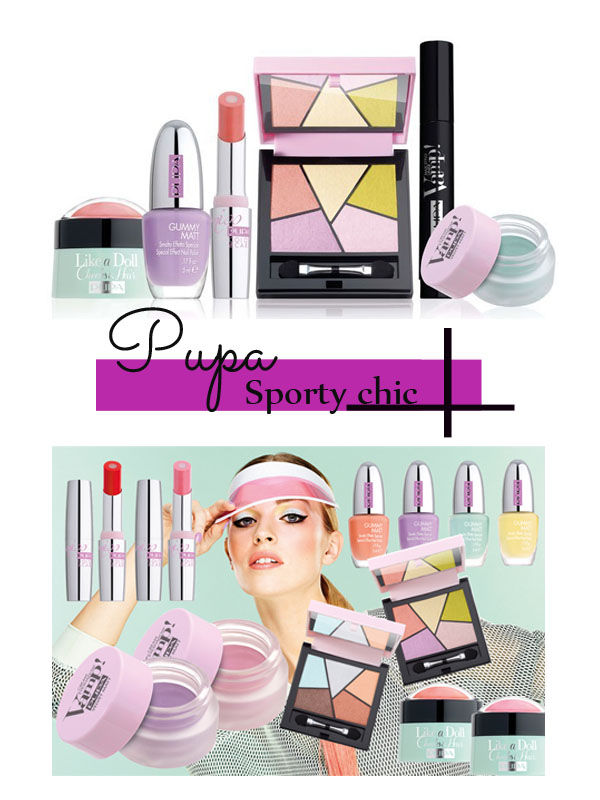 Pupa Sporty Chic Collection