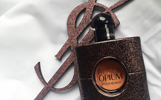 yves saint laurent, parfume, black opium